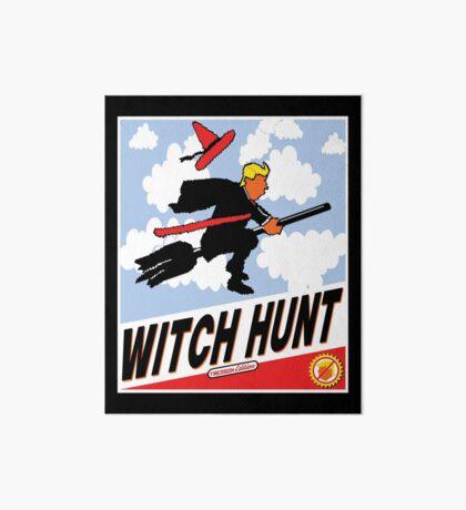Witch Hunt Trump Treason Edition T-shirts Art Board