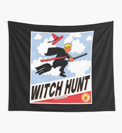 Witch Hunt Trump Treason Edition T-shirts Wall Tapestry