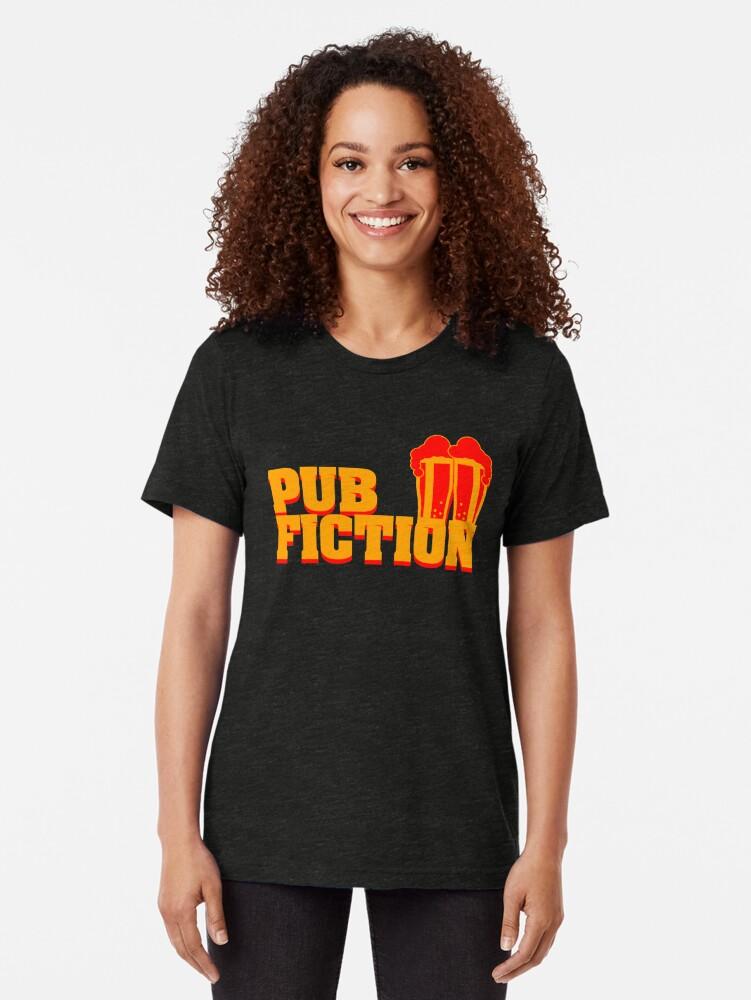 Alternative Ansicht von Pub Fiction Vintage T-Shirt