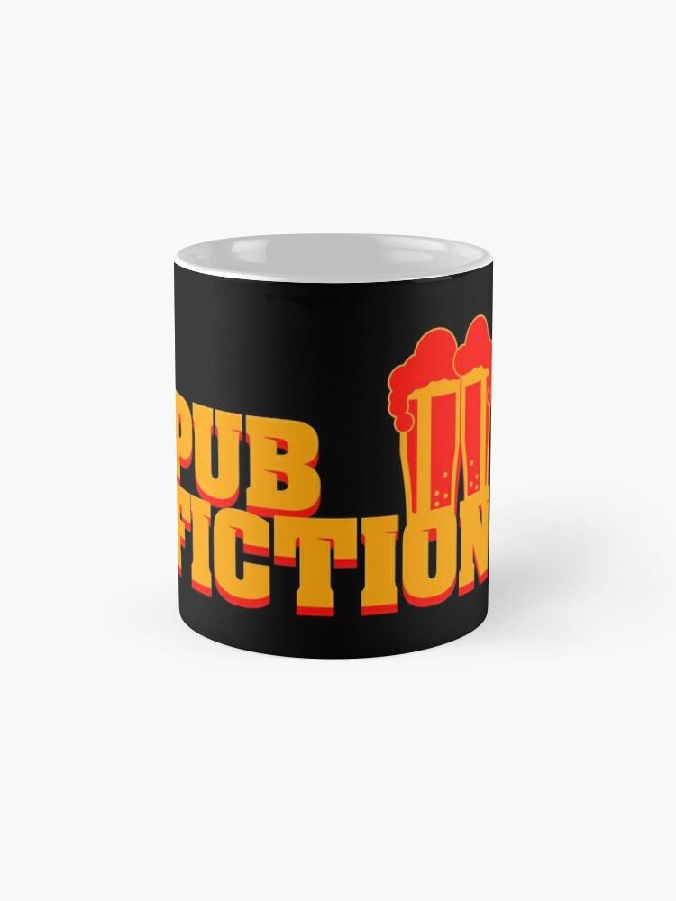 Alternative Ansicht von Pub Fiction Tasse