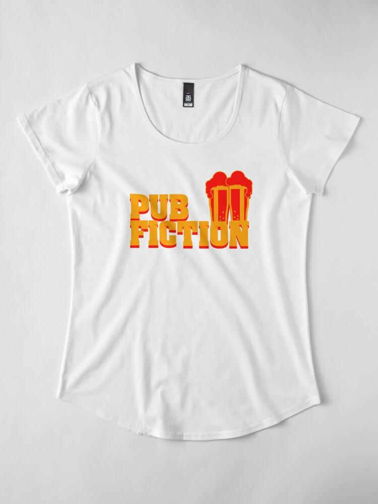 Alternative Ansicht von Pub Fiction Premium Rundhals-Shirt