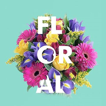 Floral Typography  by TheQueenofOz