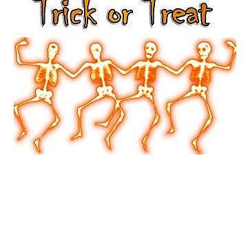 Hallowen T-shirt - Trick or Treat by Rosy39