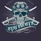 Stay Frosty (Blue Old-School) by RixxJavix