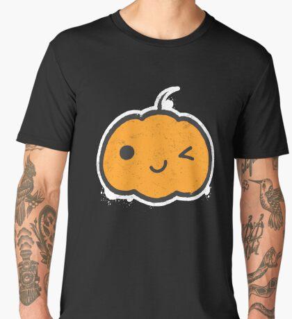 Cool Halloween Pumpkin Men's Premium T-Shirt
