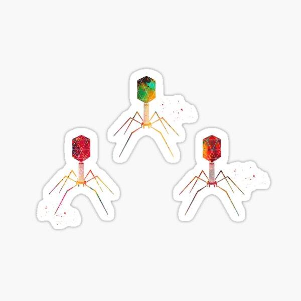 Bakteriophage Sticker