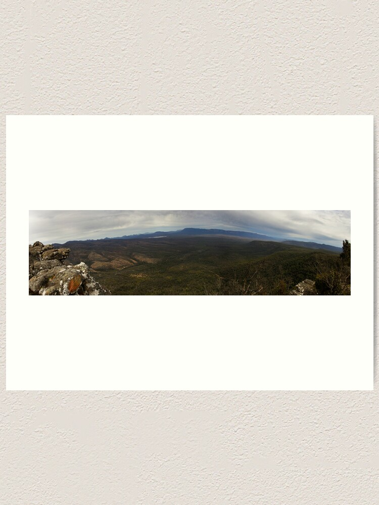 Alternate view of Reeds Lookout panorama Art Print