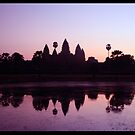 Day Break at Angkor Wat by tracyleephoto