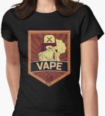Vape propaganda Women's Fitted T-Shirt