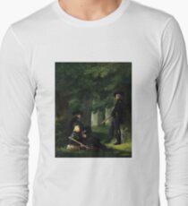 Outpost Duty by Georg Friedrich Kersting Long Sleeve T-Shirt