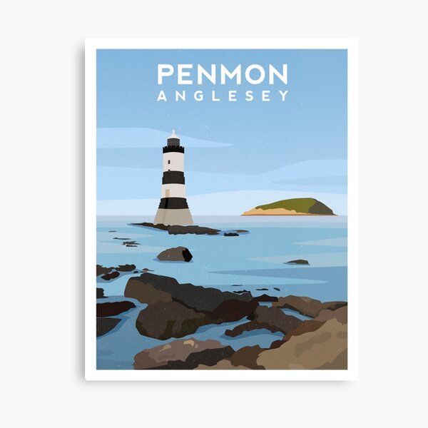 Penmon, Anglesey - North Wales Canvas Print