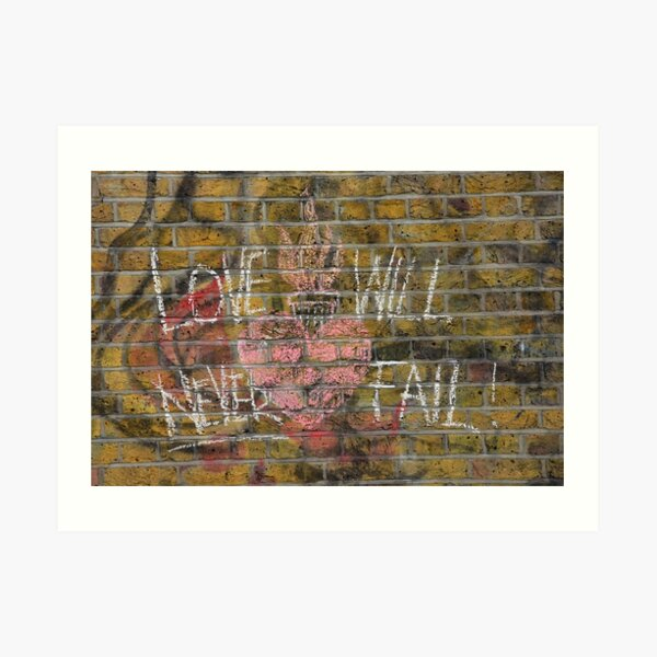 Love will never fail Art Print