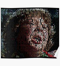 Chunk aus der Rede von The Goonies durch den Mixer Poster