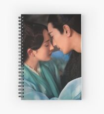 Ten Miles of Peach Blossoms (Eternal Love) Spiral Notebook