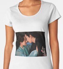 Ten Miles of Peach Blossoms (Eternal Love) Women's Premium T-Shirt