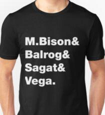 Street Fighter 2 Bosses SF II Unisex T-Shirt