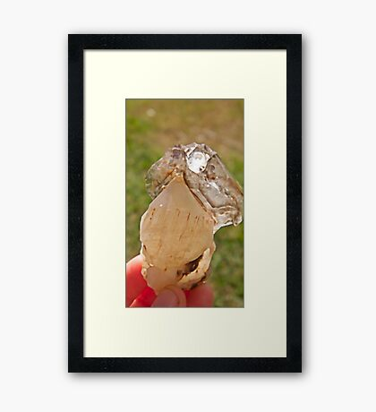 Elestial Crystal (Full)  Framed Print