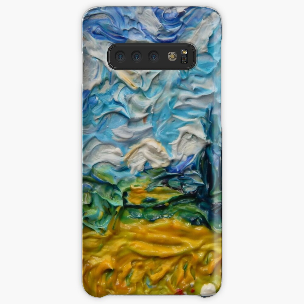 Wheat-field With Cypresses Case & Skin for Samsung Galaxy