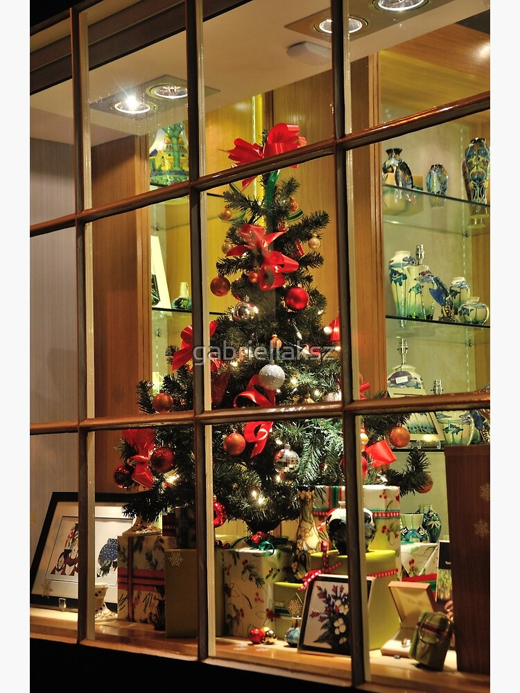 Christmas window by gabriellaksz
