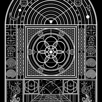 Sacred Geometry The Journey Within by RAFAROMAN