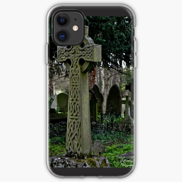 Celtic cross iPhone Soft Case