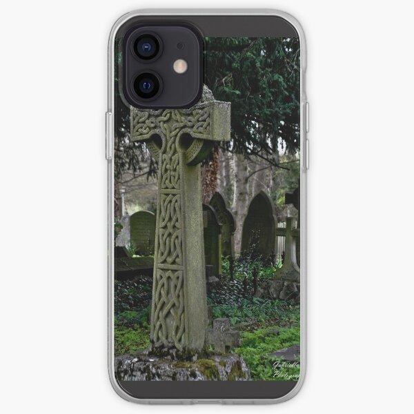 Celtic cross iPhone Soft Case