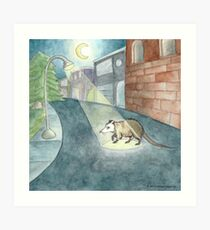 Nocturne Print Art Print