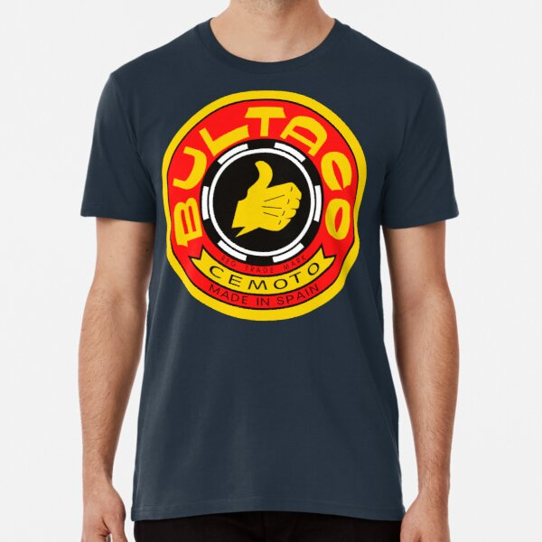 Bultaco Motorcycle Logo Premium T-Shirt