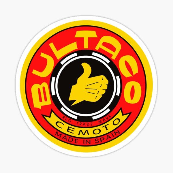 Logotipo de la motocicleta Bultaco Pegatina