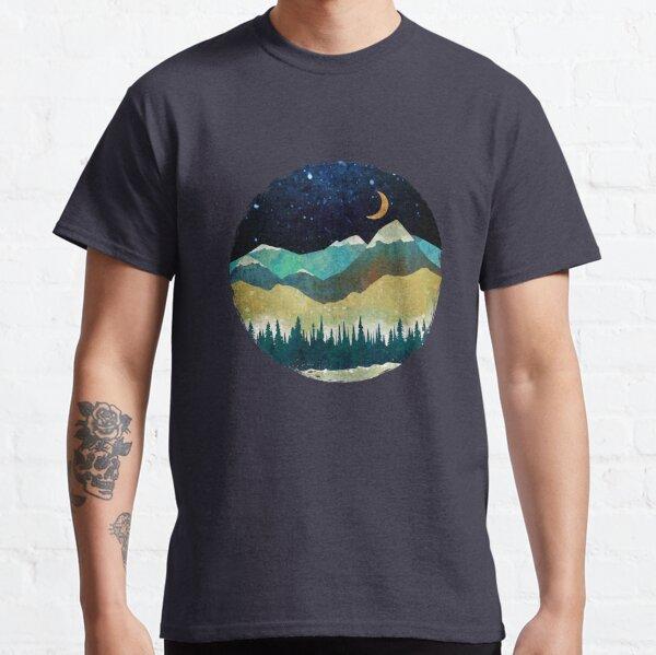 Snowy Night Classic T-Shirt