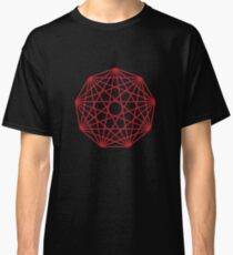 Interconnected Nonagon Shape Classic T-Shirt