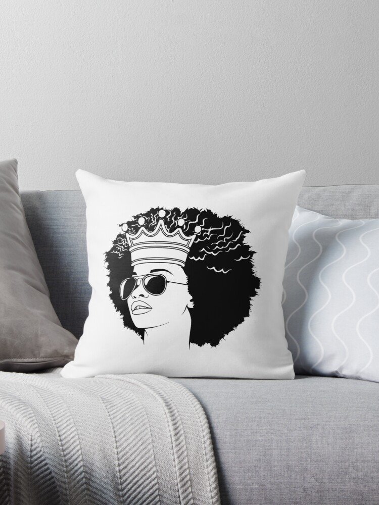 'Woman Life Quotes Diva Queen Classy lady Praying Glamour Unique' Throw  Pillow by DesignsByAymara