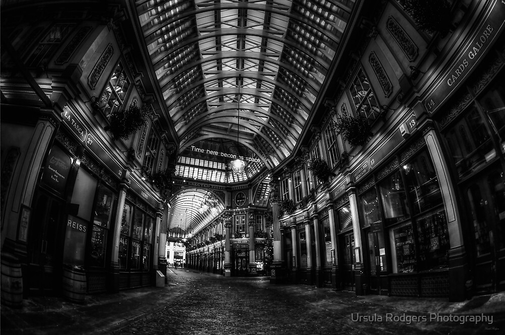 Leadenhall Market, London by Ursula Rodgers Photography