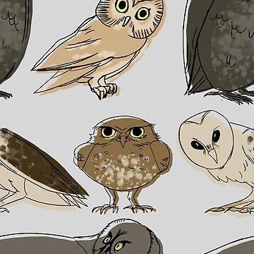 Owl Pattern by HungryRam45