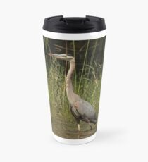 Chippewa Flowage Great Blue Heron Travel Mug