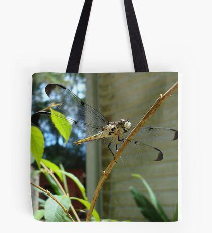 Great Blue Skimmer dragonfly (female) Tote Bag