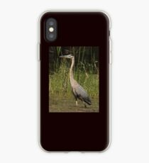 Chippewa Flowage Great Blue Heron iPhone Case