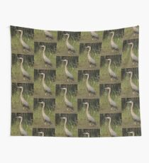 Chippewa Flowage Great Blue Heron Wall Tapestry
