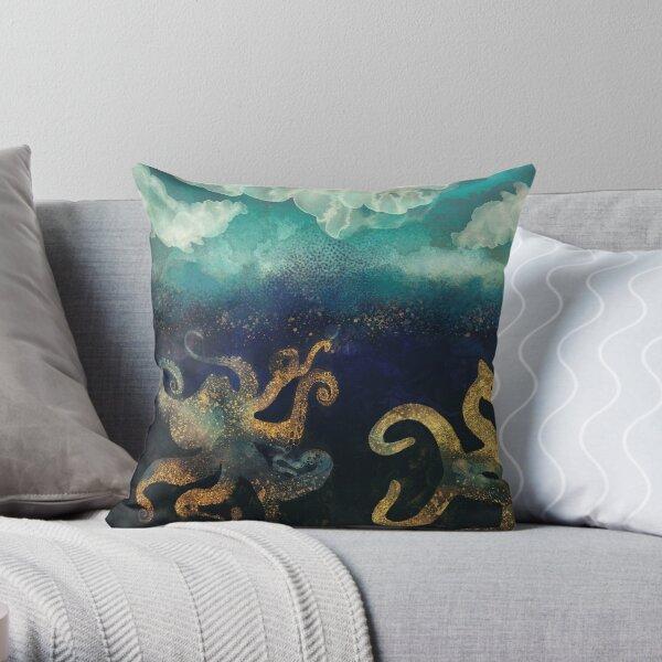 Underwater Dream II Throw Pillow