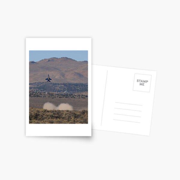 Blue Up Postcard