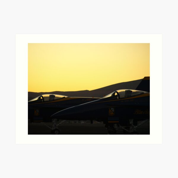 Flightline II  Art Print