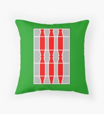 Coat of arms/flag of Umbria, Italy Throw Pillow