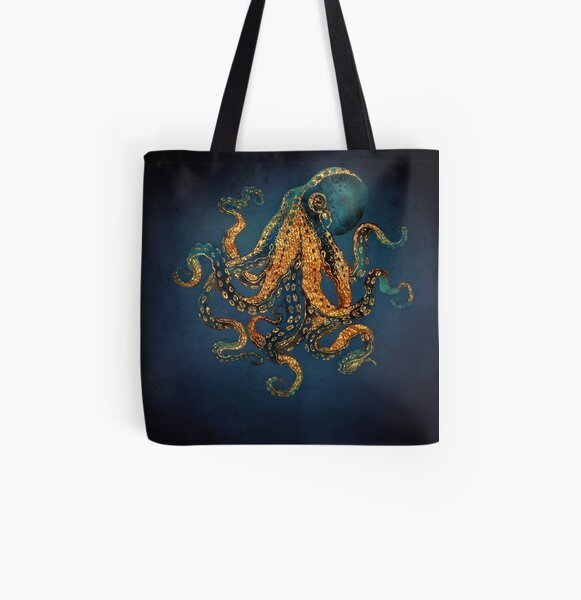 Underwater Dream IV All Over Print Tote Bag