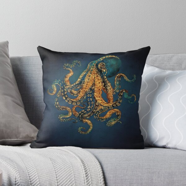 Underwater Dream IV Throw Pillow