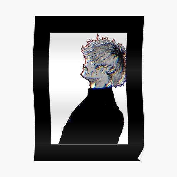 Ken Kaneki Tokyo Ghoul Manga 3D Poster