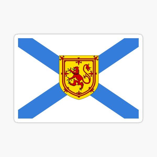 Flag of Nova Scotia Sticker