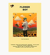 FLOWER-BOY Photographic Print