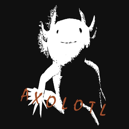 TShirtGifter presents: Axolotl (White)