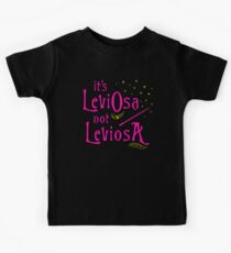 It's LeviOsa not LeviosA Kids Tee