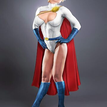 Power Girl by corywaydesign